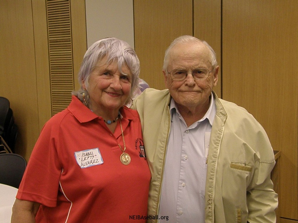 """Isabel """"Lefty"""" Alvarez and Feroen Betts at our 2010 Banquet"""